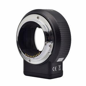 Commlite CM-ENF-E1 Nikon F  to Sony E A7III A9 A7II Autofocus V6