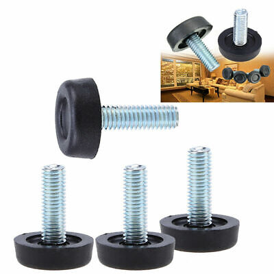 - M8 Table Chair Sofa Cabinet Adjustable leveling Leg Feet Base Screw-in Furniture