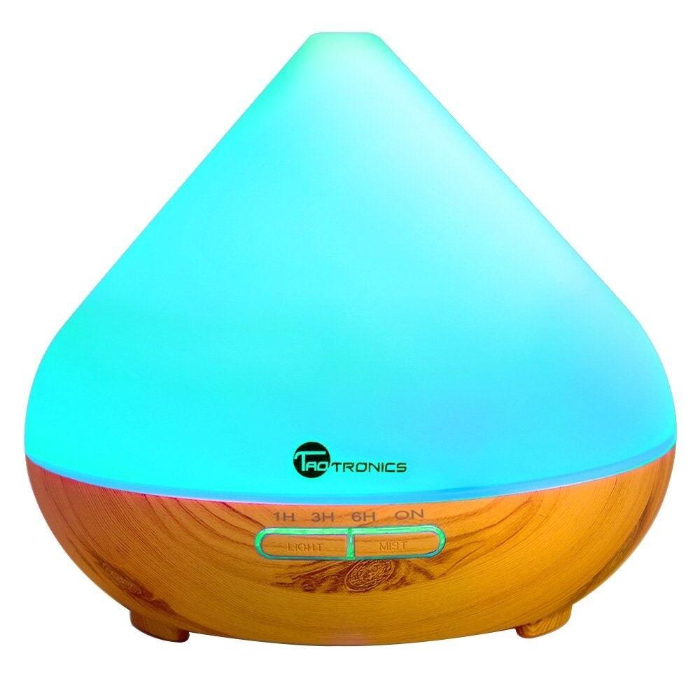 Diffusers for Essential Oils, TaoTronics 300ml Ultrasonic Hu