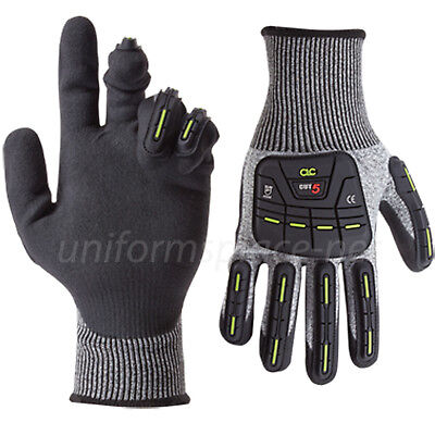 Clc Work Gloves Men Cut And Impact Resistant Nitrile Dip Oil Gas Gloves 2115