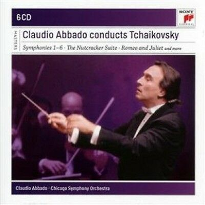 Claudio Abbado - Claudio Abbado Conducts Tchaikowsky 6 Cd Nutcracker,uvm Neu