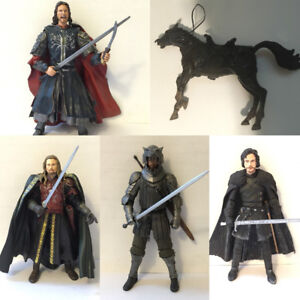 Fantasy Action Figures Lord of The Rings and Game of Thrones Lot
