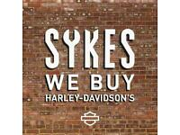 We Buy Harley-Davidson Sportster Dyna Softail Touring