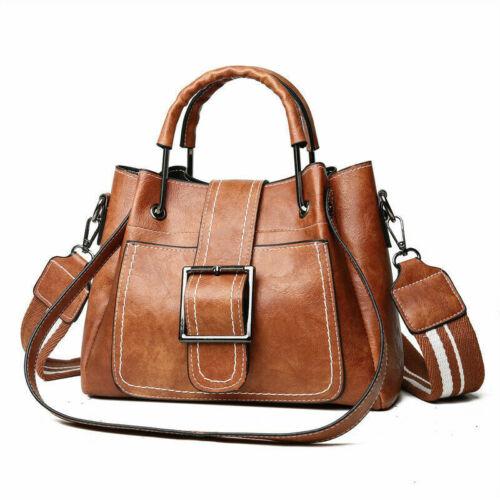 Ladies Shoulder Bags Vintage Handbag Tote Leather Boho Cross