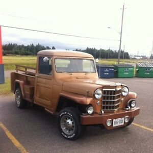 1951 Willys pickup.  Looking to trade