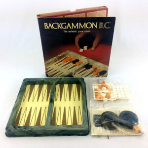Vintage Backgammon B.C. Set 1973 Gamut Of Board Games 100% Comp!