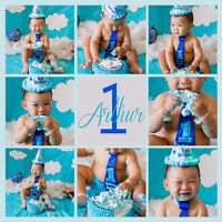 Cake Smash Photo Session - only $149 anywhere in the GTA!