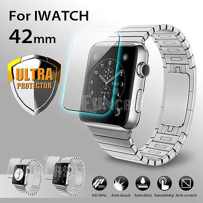AirGlass Glasfolie Apple Watch Series 3 (42mm) Panzerfolie Display Schutzglas