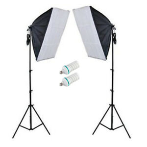 400w Photo Video Continuous Softbox Lighting Starter Kit