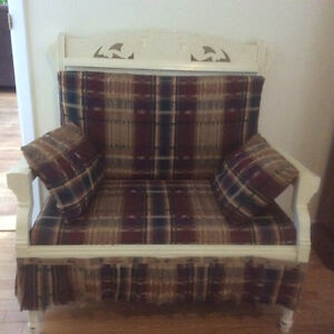 Small vintage bench seat