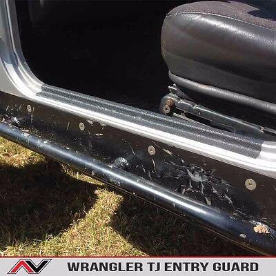 Door Sill Entry Guard Protection Fits: Jeep Wrangler TJ 1997-2006 Free Ship! for sale  Shipping to South Africa