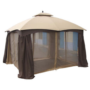 12 FT X 10 FT GAZEBO w/INSECT SCREEN - NEW IN BOX! (PAID $1,200) London Ontario image 2