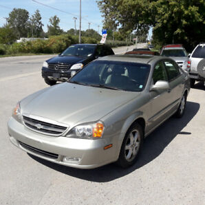 04 chev epica 67km SAFETY+ 3MONTH WARRANTY* INCLUDED