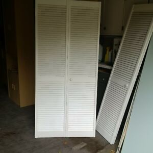 louvered doors Kitchener / Waterloo Kitchener Area image 1