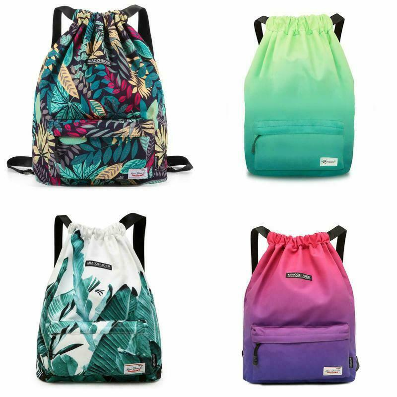 Colorful Personalized Drawstring Bag Sport Gym Bag Sackpack