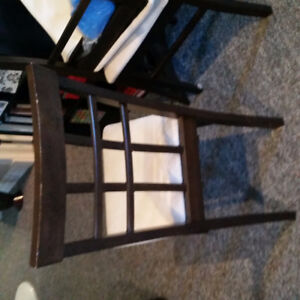 MAKE AN OFFER....GOTTA GO..DINING ROOM CHAIRS WITH CUSHION SEATS