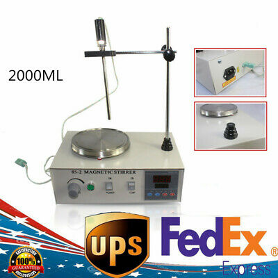 2000ml Heating Magnetic Stirrer 85-2 With Digital Hot Plate Temperatur 110v 200w