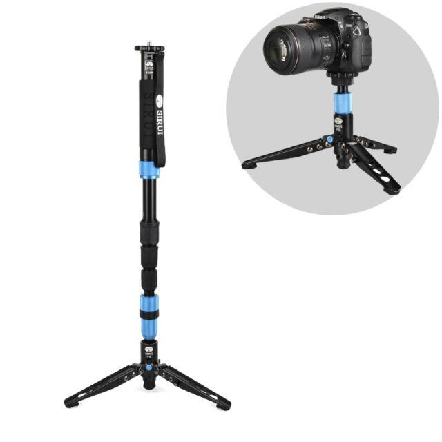"SIRUI P-204S monopod+Unipod Holder,Professional Photography SLR tripod,Max:63"""