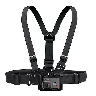Adjustable Elastic Chest Strap Harness Mount for GoPro 1 2 3 3+ 4 5 SJCAM