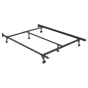 Queen / Double Metal bed frame with middle piece