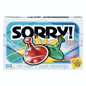 "Classic ""SORRY"" Board Game * IF AD'S UP STILL AVAILABLE"