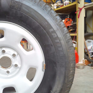 4 Michelin X Snow Tires Like New London Ontario image 2