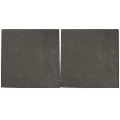2pcs High Pure Carbon Graphite Sheet 100×100×2mm Plate graphite plate 12 x12 x1