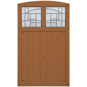 Yardistry Gate with Faux Glass REDUCED PRICE!