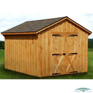 Complete wood shed delivered and set up