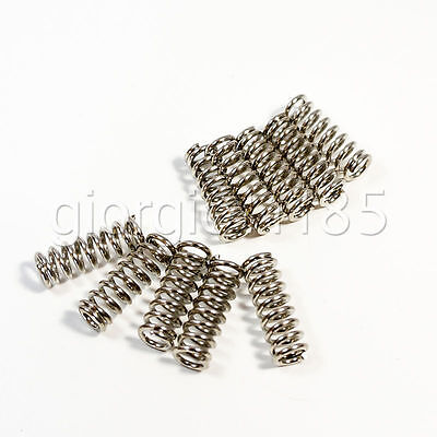 Us Stock 10x Spring For 3d Printer Extruder Heated Bed Ultimaker Makerbot 7.5mm