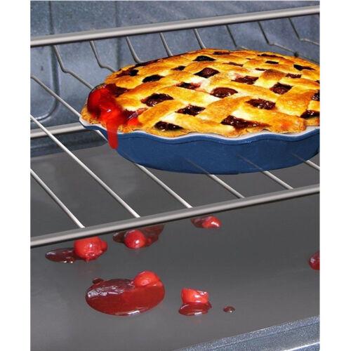 5Pcs Non-Stick Oven Liner Large Baking Aide Dishwasher Safe Reusable Spill Mat S