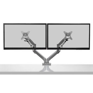 Kanto DMG2000 Dual-Monitor Desktop Mount for 17-inch to 27-inch