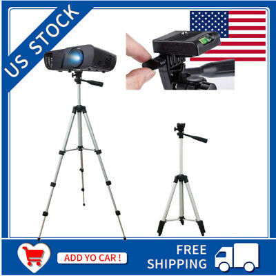 Portable Extendable Tripod Stand Adjustable Camera Phone Mini Projector Studio