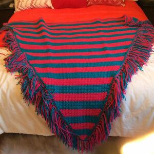 châle tricoter de mes main