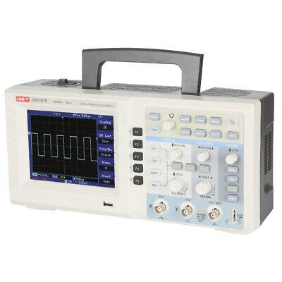 Uni-t Utd2152ce 150mhz 1gss Digital Storage Oscilloscope 2-ch Tft Lcd Uk Stock