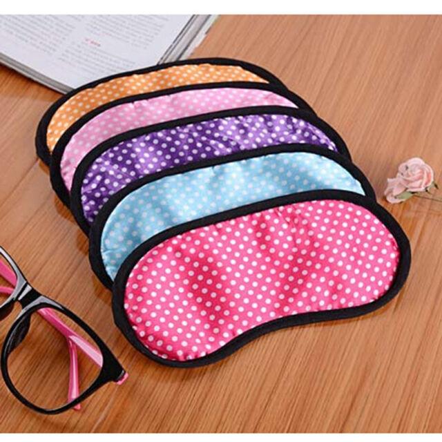 Lovely Sleeping Eye Mask Blindfold Shade Travel Sleep aid Cover 1pcs Hot LJ