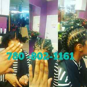 Hair braiding, weaving, crochet, relaxing, dreadlocs, and more