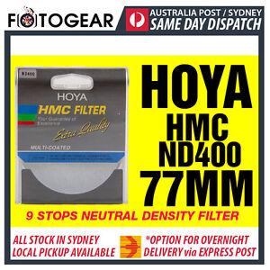 Genuine HOYA HMC ND400 Netural Density NDx400 Multi-Coated 77mm Filter AUSPOST