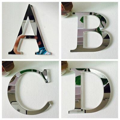 3D Wandaufkleber Englisch Buchstaben Entfernbare Aufkleber Schlafzimmer Dekor (Wand Schlafzimmer Dekor)