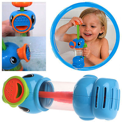 Duck Shape Pump Spray Water Bath Swimming Pool Playing Toys for Kids Child Baby - Water Toys For Kids