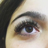 Eyelash Extensions - Classic and Russian Volume-Premium Quality