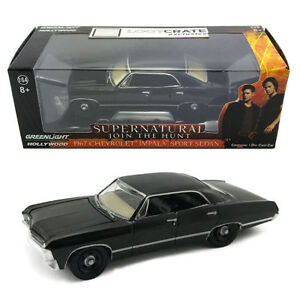 Supernatural 1967 Chevrolet Impala Car 1:64 scale. Loot Crate exclusive