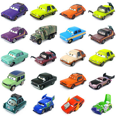 Disney Pixar Cars & Cars 2 Bad Fellows Metal Toy Car 1:55 New In Stock Loose - Disney Toy Cars