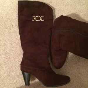 Heels boots, size 6.5-7