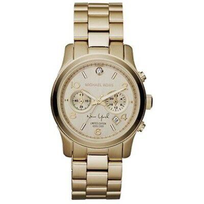 New Michael Kors  MK5662  Limited Edition  Gold Tone Diamond Watch