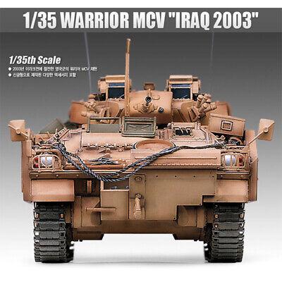 Academy 1/35 WARRIOR MCV IRAQ 2003 13201 Armor Plastic Model Kit