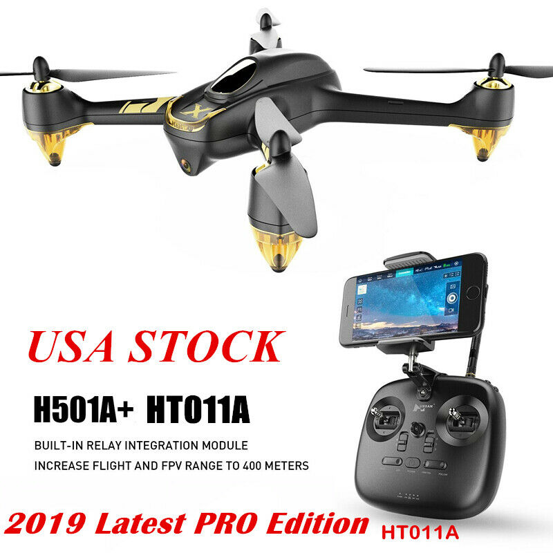 Hubsan X4 H501A+ PRO FPV RC Quadcopter Brushless APP Drone 1080P Follow Me GPS