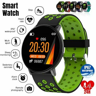 Sports Smart Watch Wristband Blood Pressure Heart Rate Bracelet Fitness Tracker