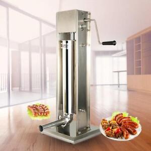 Vertical Sausage Stuffer Meat Maker Filler Manual Meat Sausage Stuffer 3L/5L /15L