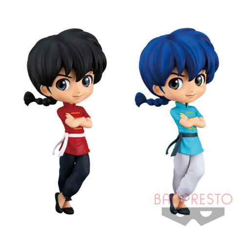 "Q Posket Ranma 1/2 Saotome Ranma 6"" PVC figure Banpresto (100% authentic)"